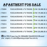 Puncak Erskine Sale at Penang !! Call 04-3806688/0164193313 for more details