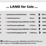 Land for Sale at Penang & Butterworth Area. Call 04-380066/0164193313 for more details