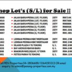 Penang Shop & Office lot for sale!!Call 04-3806688/ 0164193313 today!!!